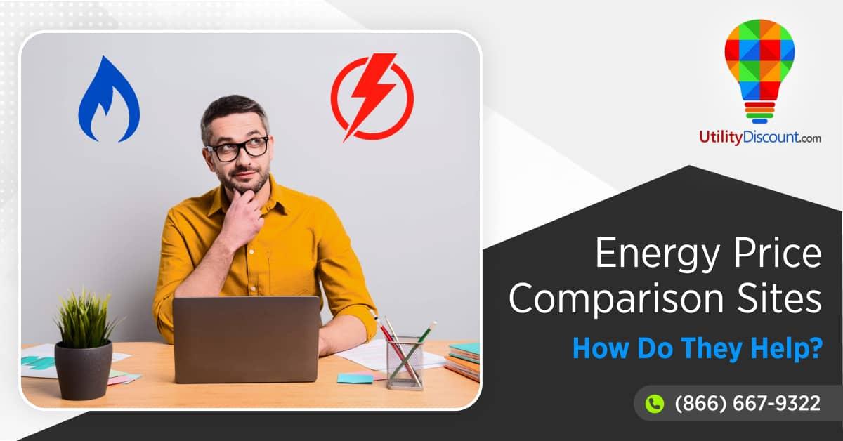 Energy price comparison sites